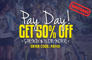 Encore: Pay Day! New Arrivals & Top Sellers