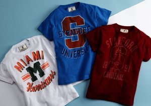 $8 & Up:  T-Shirt Shop for Boys