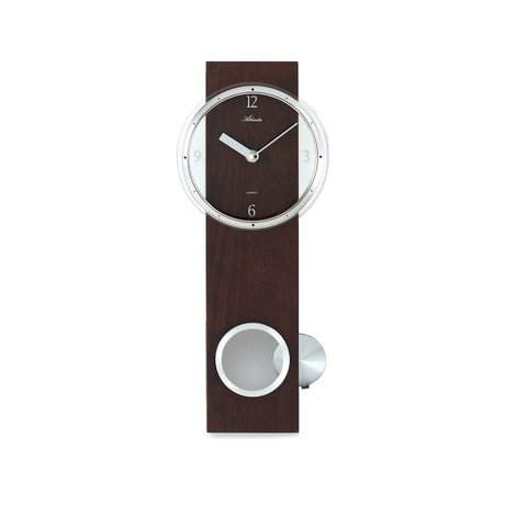 Pendulum Wall Clock // Brown