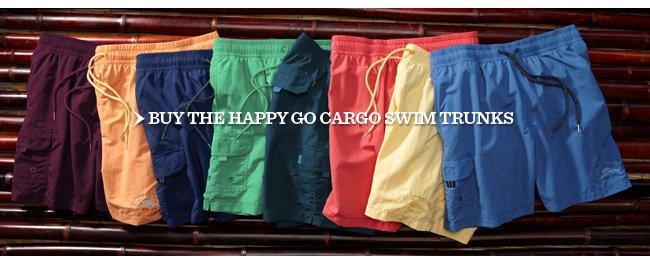 Buy The Happy Go Cargo Swim Trunks