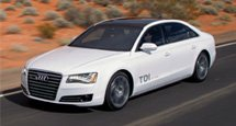 Explore the Audi A8 L TDI clean diesel
