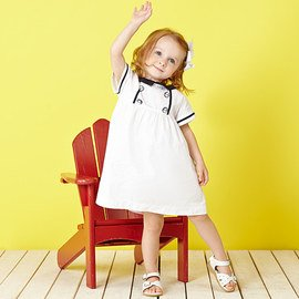 Summer Whites: Girls' Apparel