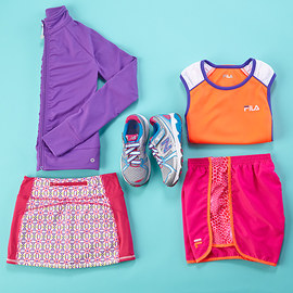Ready, Set, Go: Tween Activewear
