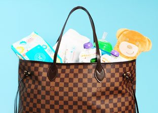 The Mom Bag: Designer Style on the Go