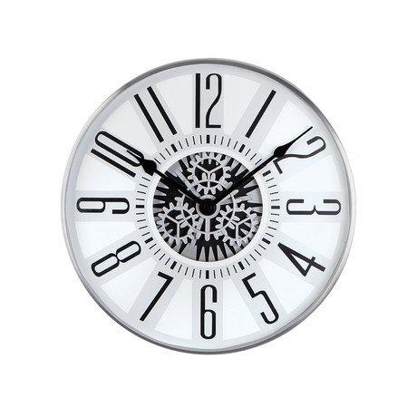 Geared Classic Wall Clock // Minimal