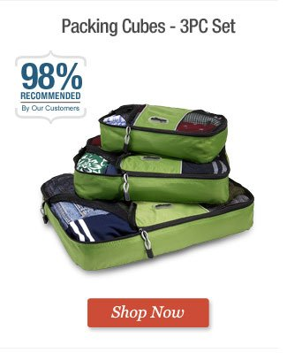 Packing Cubes - 3PC Set. Shop Now