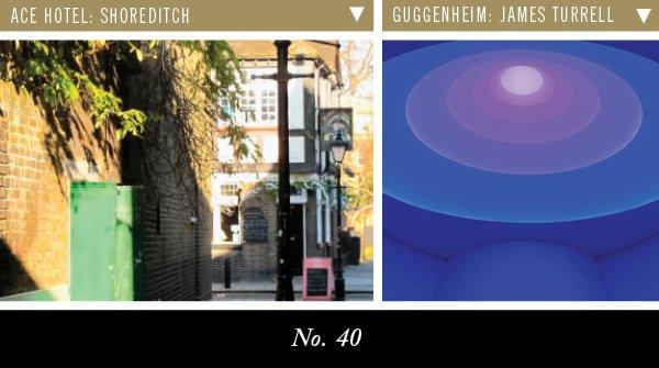 Ace Hotel: Shoreditch | Guggenheim: James Turrell