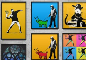 Shop New: Banksy-Inspired Canvas Prints
