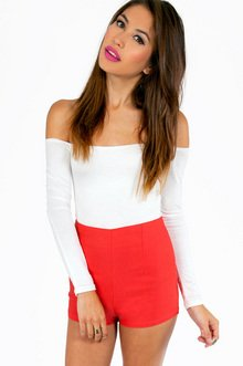 HIRE HIGH WAISTED SHORTS 25
