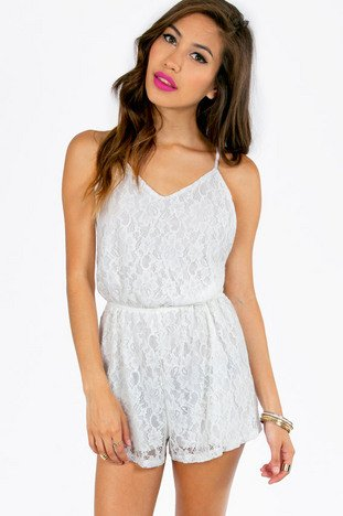 CHASING LACE ROMPER 42