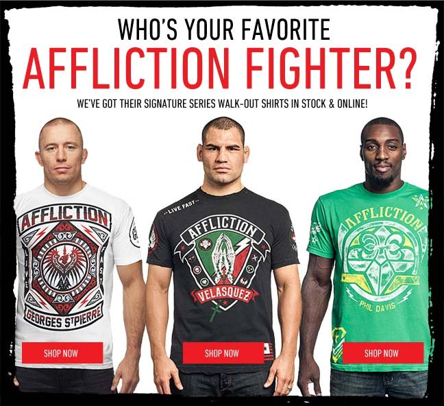 Favorite Fighter Walk-Out Tees