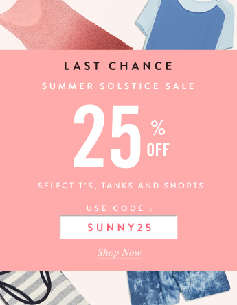 Last Chance Summer Solstice Sale
