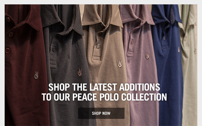 Peace Polos - New Colors Have Arrived