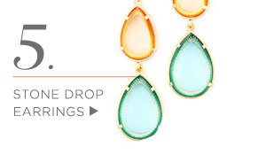 Shop Stone Drop Earrings