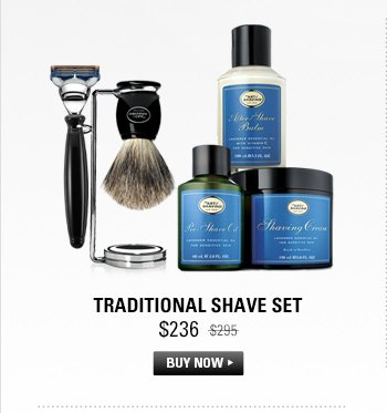 Traditional Shave Set
