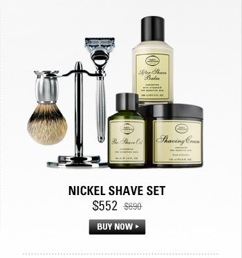 Nickel Shave Set