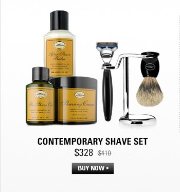 Contemporary Shave Set