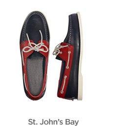 St. John's Bay boat shoes $50 ›