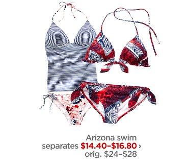 Arizona swim separates $14.40–$16.80 › orig. $24-$28