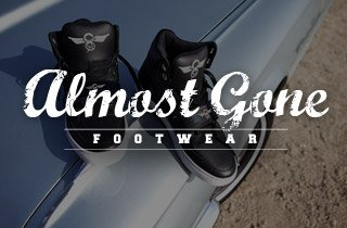 Almost Gone: Footwear