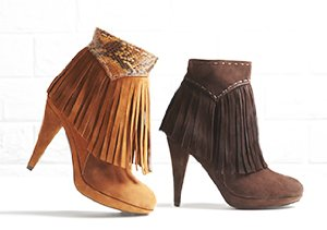 Fringe Benefit: Shoes, Bags & More