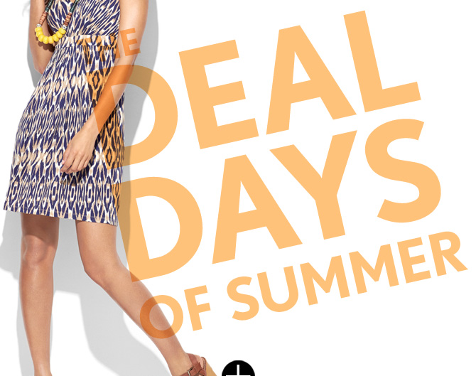THE DEAL DAYS OF SUMMER