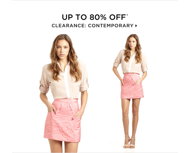 Up To 80% Off* Clearance: Contemporary