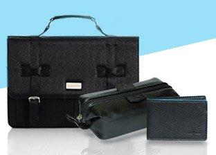 Jean-Louis Scherrer Men's Bags and Dopp & Buxton Accessories