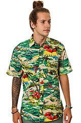 The Hawaiian Buttondown Shirt in Tropical