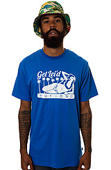 The Get Lei'd Tee in Royal