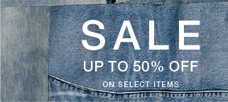 Sale up to 50% off on select items