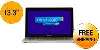 """Lenovo IdeaPad U310 (59366627) Intel Core i3 4GB 13.3"""" Touchscreen Ultrabook Graphite Gray"""