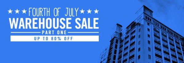 Shop 24-Hour Warehouse Sale: Part I