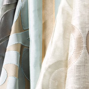 Let the Breeze In: Airy Curtains & Rods