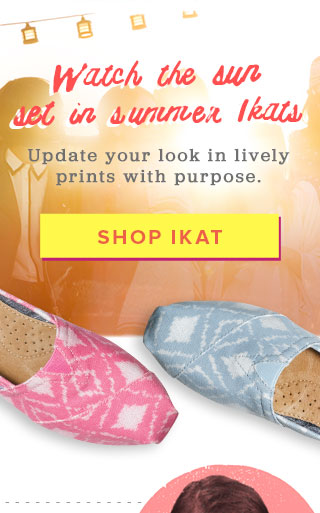Watch the sun set in summer Ikats - Shop Ikats
