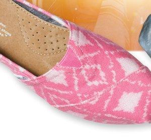 Pink Geometric Ikat Women's Classics