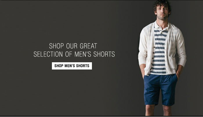 Shop our Great Selection of Men's Shorts - Shop Men's Shorts