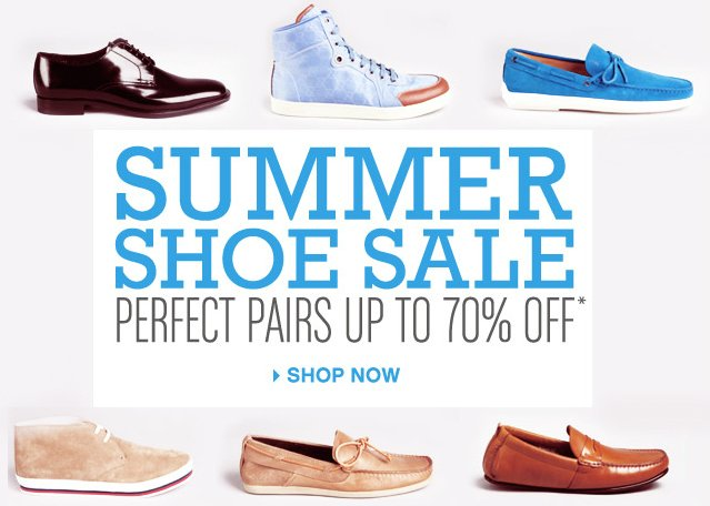Summer Shoe Sale