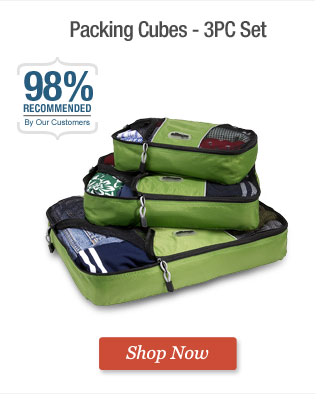 Packing Cubes - 3PC Set. Shop Now
