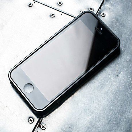 Bumper Case for iPhone // Gun Metal