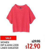 women-dip-iliann-loeb-linen-round-neck-short-sleeve-sweater