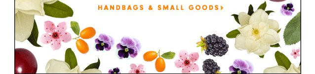 Summer Sale. Handbags and Small Goods.