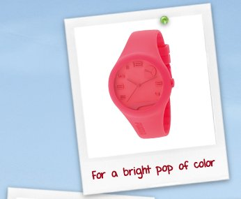 For a bright pop of color