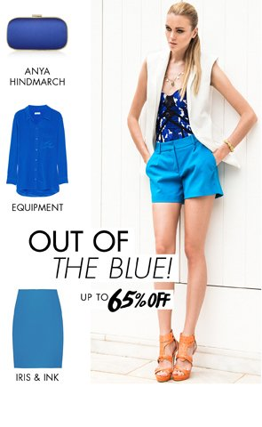 OUT OF THE BLUE - UP TO 65% OFF