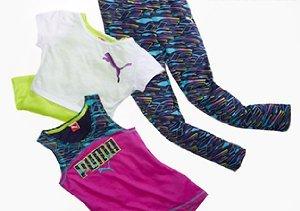 On the Go: Girl's Activewear