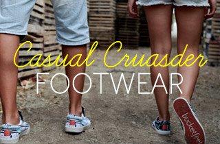 Casual Crusader: Footwear