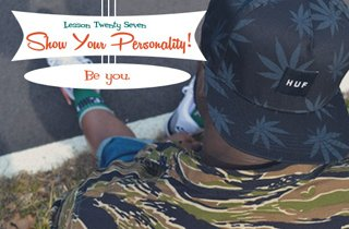 Lesson #27 Show Your Personality