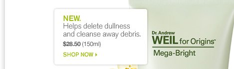 NEW Helps delete dullness and cleanse away debris SHOP NOW