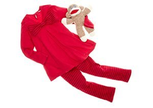 Red Wagon: Sets for Baby & Girls