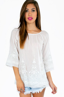 SILVERY EMMA TUNIC COVER UP 36